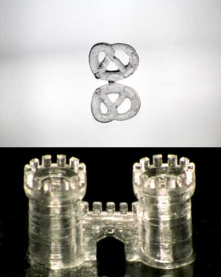 3D printing of glass